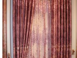 Sheer Maroon Curtains Sheer Maroon Curtains Burgundy Polyester Blackout Curtains For