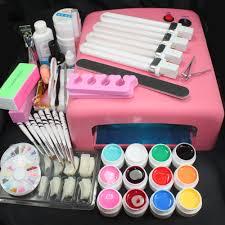 professional gel nail kit nail art kit list in addition gel nail