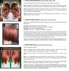 crazy for rose gold haircolor formulas hair color pinterest