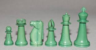 antique indian staunton chess set www chessantiques com