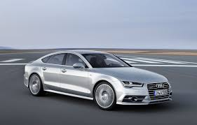 audi a7 slammed how standard led headlights on the audi a7 facelift will change