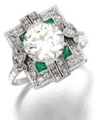 three art deco emerald and diamond pieces diamonds in the library