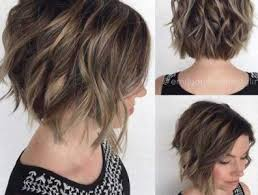 short haircusts for fine sllightly wavy hair short wavy haircuts short hairstyles 2016 2017 most popular