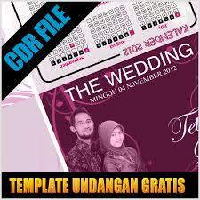 template undangan format cdr download gratis undangan nikah format coreldraw x3 coreldraw x4