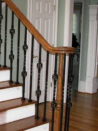 Iron Banister Spindles Iron Balusters Stair Spindles Staircase Wood