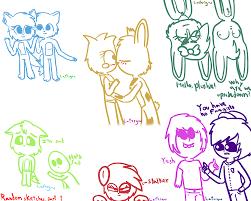 random sketches part 1 by lafergas on deviantart