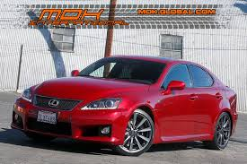 lexus f 5 0 sedan v8 2011 lexus is f only 18k miles 416hp 50 v8 city california mdk