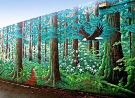 wshg net blog bremerton s unnoticed wonder 150 foot life like the forest mural in bremerton painted by dennis mcdaniel