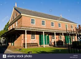 new jersey house friends meeting house 1784 burlington new jersey stock photo
