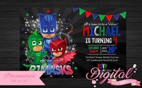 boys party invites