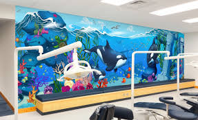 ids express fast easy dental theming imagination dental solutions express mural examples