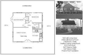 Cabin Layouts Cabin Plans And Designs H257 1000 Sq Ft Custom Design With Crawl