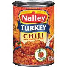 turkey can nalley turkey chili con carne with beans 15 oz walmart