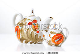 dish set tea white stock images royalty free images