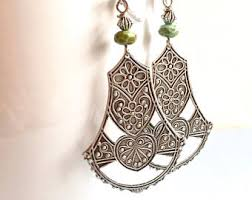 arabian earrings arabian jewelry etsy