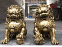 pictures of foo dogs feng shui for protection