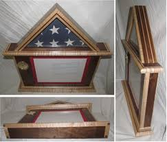3x5 Flag Display Case With Certificate 3x5
