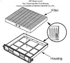 honda accord cabin air filter replacement 2007 honda accord cabin air filter interior problem 2007 honda