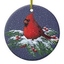 cardinal ornaments keepsake ornaments zazzle