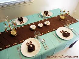 my creative stirrings easter or spring table setting