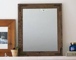 Modern Mirrors Bathroom Wood Frame Mirror Framed Mirror Modern Mirror Vanity