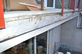 estrich balkon balkon tiefer spalt zwischen betonboden und estrich auffüllen