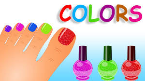 learn colors with nail art design for kids nails design for