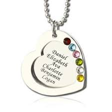 Mother S Necklace With Names Mother U0027s Name Necklace