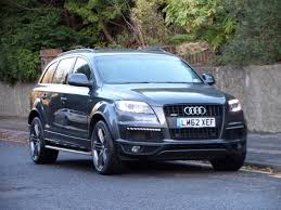 audi for sale by owner used 2012 audi q7 tdi quattro s line plus one owner big spec for
