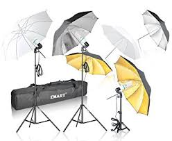 emart photography umbrella lighting kit 1575w 5500k