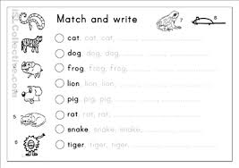 kindergarten writing practice worksheets free worksheets library
