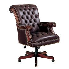 Crate And Barrel Lowe Chair by Shop Coaster Fine Furniture Burgundy Traditional Executive Chair