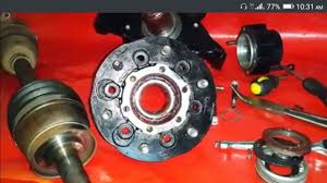 nissan d22 4wd wheel bearing inspection u0026 logistics part 8 10