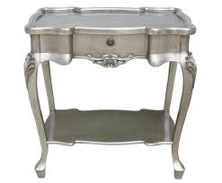 Silver Sofa Table Silver Sofa Table And Hathor Silver Console Table