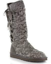 ugg womens casual shoes ugg s mahalya knit casual boots boot barn