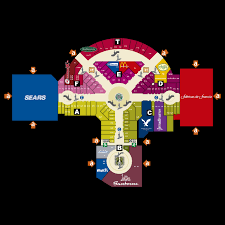 Mall Of Louisiana Map by La Gran Plaza Fashion Mall Map