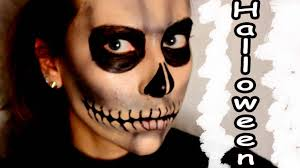 Halloween Skeleton Make Up by