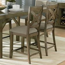 Counter Height Chairs With Back Omaha Counter Height Dining Set W X Back Bench Grey Casual