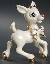 lenox rudolph the nosed reindeer at replacements ltd