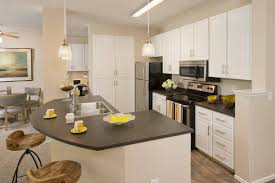 luxury 1 2 3 bedroom apartments in san jose ca spacious kitchen with island at rosewalk in san jose