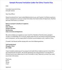 example of invitation letter sample cover letter for visitor visa