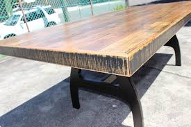 Reclaimed Timber Dining Table Timber Dining Table Sydney Recycled Wooden Dining Table Sydney