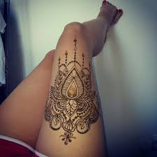 Thigh Tattoos - related image henna hennas thigh henna and henna