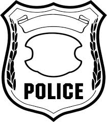 genius free police badge coloring pages awareness with page itgod me