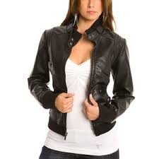 Leather Womens Moto Jacket Jackets Review