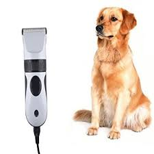 dog hair cutting table amazon com turnraise pet hair trimmer clippers grooming clipper