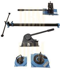 steel metal scroll scrolling bender bending ornamental punch rivet