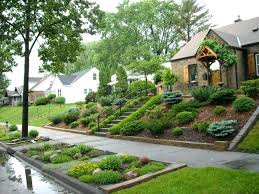 Steep Hill Backyard Ideas Backyard Hill Landscaping Design Of Landscape Ideas For Steep