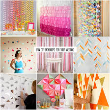 wedding backdrops diy diy wednesday backdrops for your wedding bajan wed