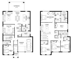 House Plans For Builders by Aria 42 Double Level Floorplan By Kurmond Homes New Home